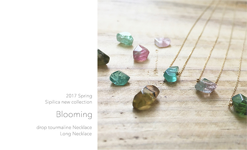 2017 Spring Sipilica new collection Blooming